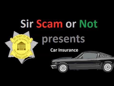 Is Car Insurance a Scam?