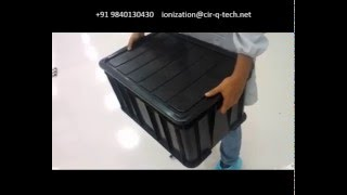 NEC Japan 3G and 4G Board ESD Safe custom PCB storage bin and solution