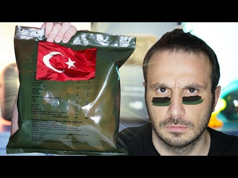 TÜRK KOMANDO YEMEKLERİ   TURKISH MRE