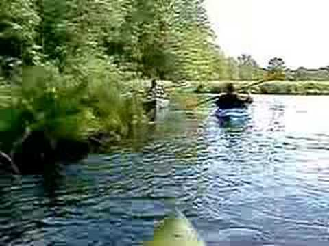 Aint Life A Brook - kayaking at The Fen with Ferron