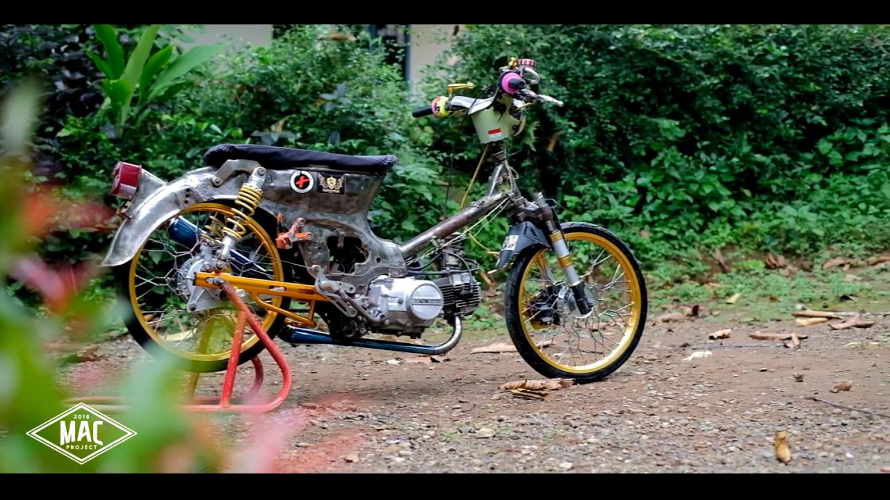 MODIFIKASI HONDA C70 RACING KARAT