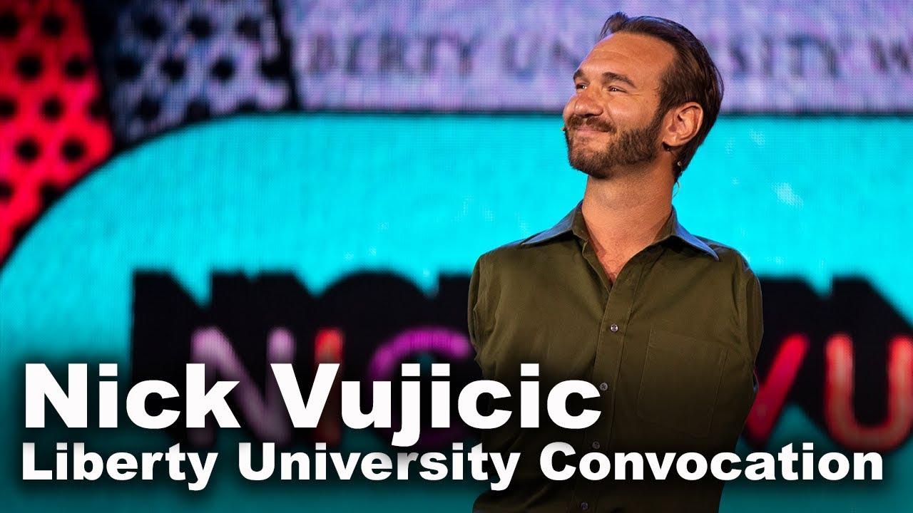Nick Vujicic - Liberty University Convocation