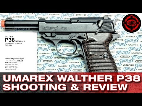 Umarex Walther P38 Shooting and Review