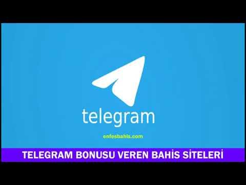 Telegram bonusu veren bahis siteleri 2021 - Enfesbahis.com