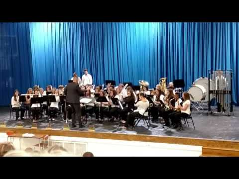 05 16 2016 Newcomerstown High School Band 03 Jurassic Park