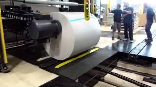 V-13 SMC Auto Roll Load to MEGTEC Splicer