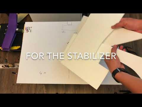 $1 flying sheet of foam board! -- foam board scratch board challenge