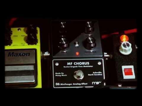 "Moog ""Minifooger Chorus"" Demo"