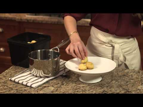 Wellsley Farms Presents A Simple Holiday Croquembouche
