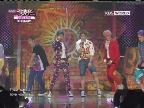 [Music Bank K-Chart] BEAST - Beautiful Night (2012.07.22)