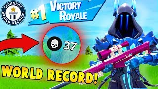 37 KILLS WITH A SNIPER!! (Fortnite Solo FAILS & WINS #35)