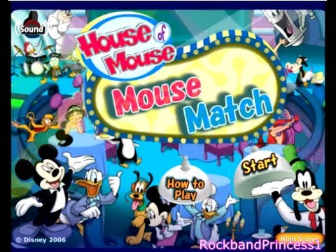 Disney S House Of Mouse Match Game Youtube