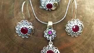 Mardin Midyat telkari gümüş TMT Silver
