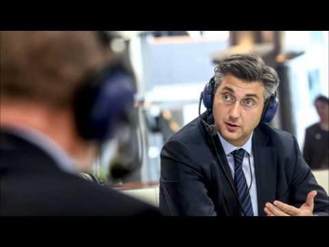 Andrej Plenković - Dossier Europa Hrvatski radio - 21.1.2016.