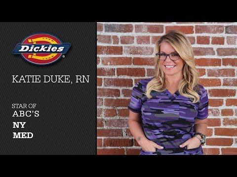 Nurse Katie Duke for Dickies Scrubs