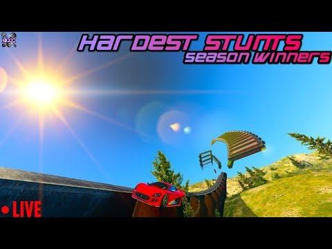 LIVE - GTA Online - Hardest Stunts Season 5 Winners w/ GCCC Crew