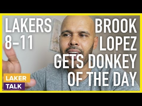 Lakers Fall to Kings - Brook Lopez Gets Donkey of the Day #LakerTalk