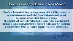 How to stop foreclosure in New Mexico