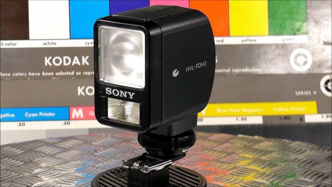 sony handycam light
