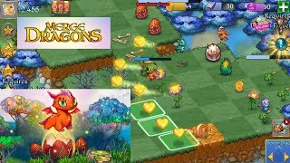 Merge Dragons! (EN) - A wonderful game with dragons in the puzzle genre (Android Puzzle)