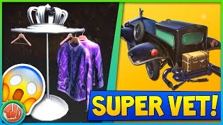 *LEAKED* VETTE GLIDER, KLEDINGREK & TRAILS!! - Fortnite: Battle Royale
