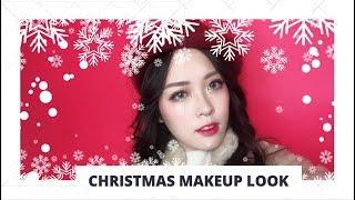 [ Style Korean ] Christmas Makeup Look - Trang điểm Giáng Sinh | Linh Linh Makeup