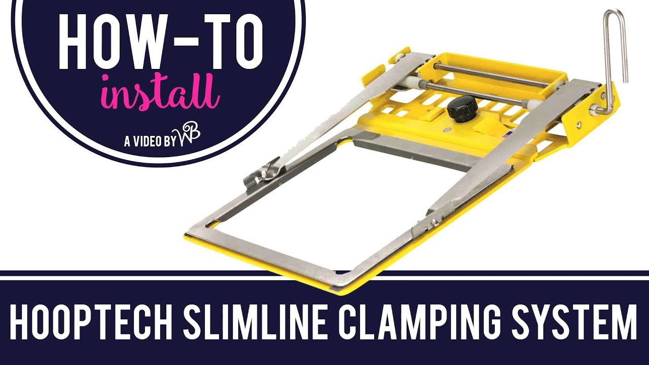 How To Install Hooptech Clamping System Youtube