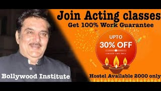 Bollywood Institute Hostel Available 2000 Only 100% Work Guarantee No-1 Acting School  Acting tips