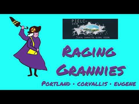 Raging Grannies at PIELC 2018