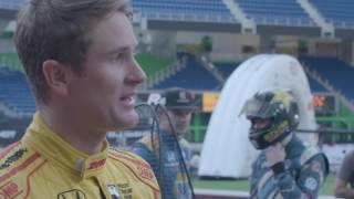 Race of Champions Day 1 Recap: Ryan Hunter-Reay and Alexander Rossi
