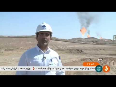 Iran made NGL-3100 Oil Refinery Flare Gas recovery unit, Ilam بازيافت گاز سوزان پالايشگاه نفت