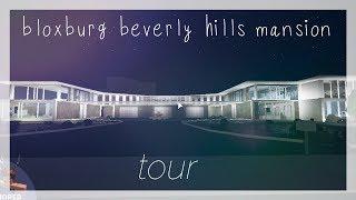 Bloxburg Beverly Hills Mansion Tour || Roblox