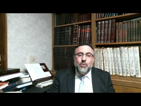 Video Vort - Breishis 5777 - Rabbi Etan Tokayer