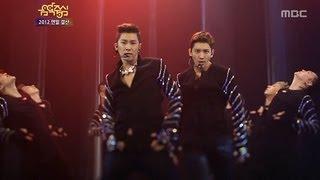 TVXQ - Catch Me, 동방신기 - 캐치미, Music Core 20121229