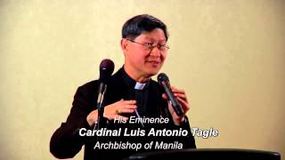 What is it to give from the heart and to give one's heart? A Talk by Luis Antonio Cardinal Tagle