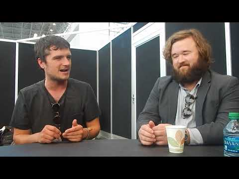 NYCC 2017: Josh Hutcherson and Haley Joel Osment of Future Man