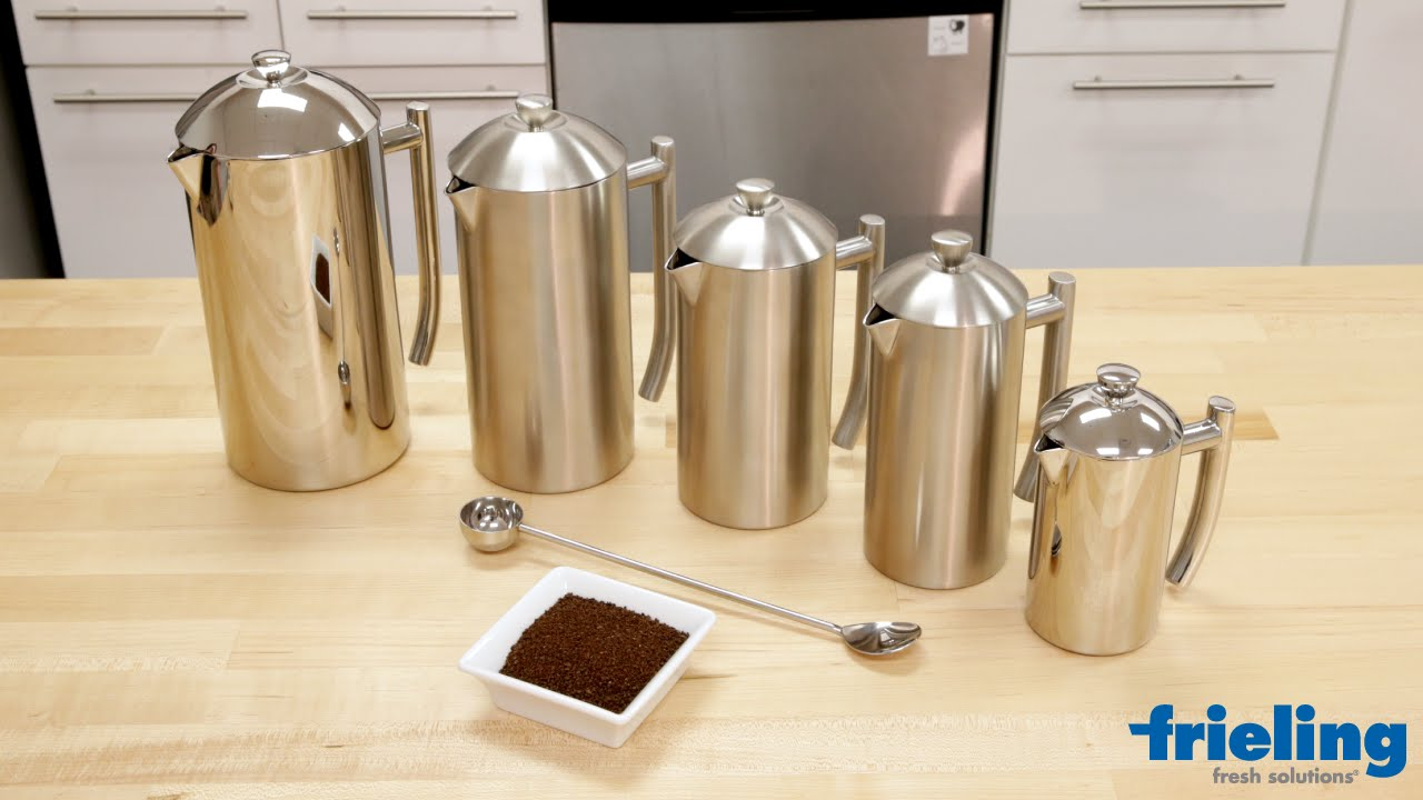 Frieling French Press Available In 5 Sizes Polished Or