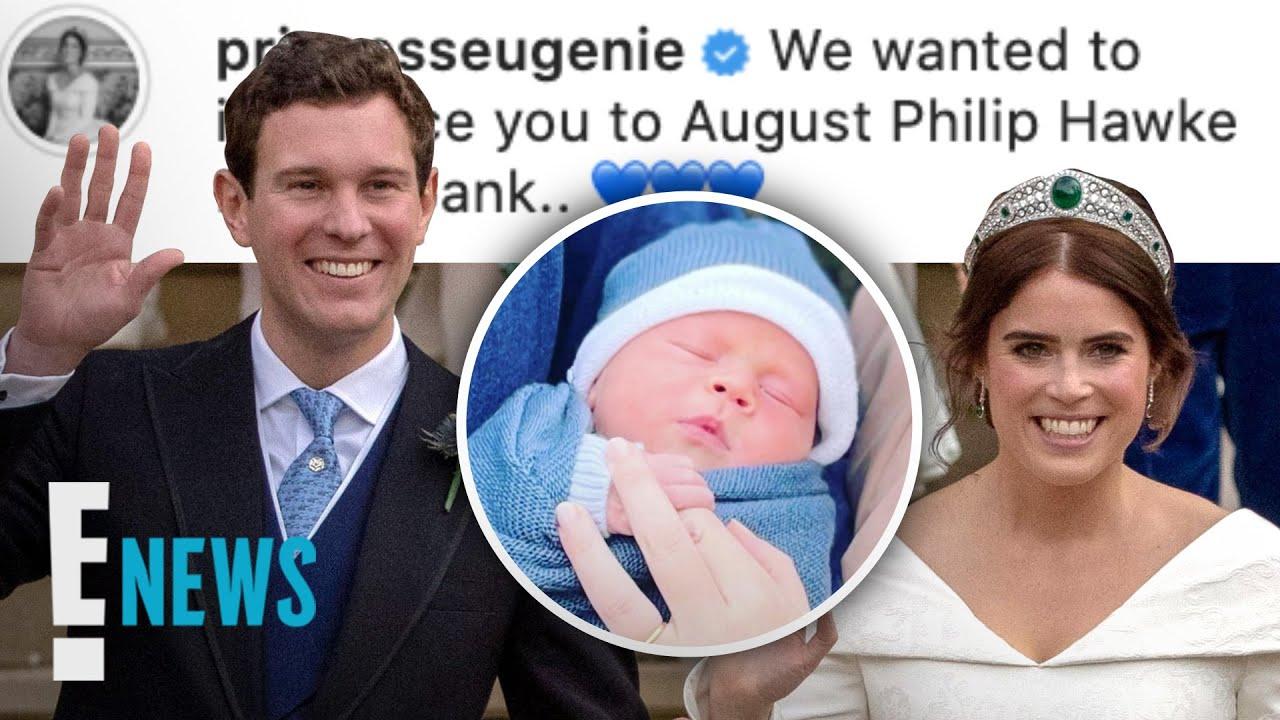 Princess Eugenie Shares First Photos of Son & Reveals His Name