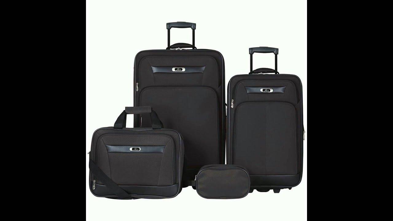 b70b30afe Skyway Desoto 4 Piece Travel Set - LuggageFactory.com - YouTube