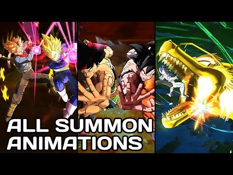 All Summon Animations - Dragon Ball Legends