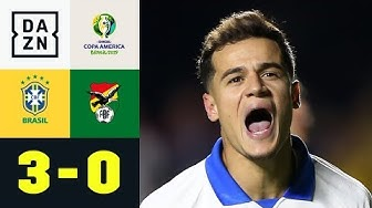Philippe Coutinho sichert Selecao den Auftaktsieg: Brasilien - Bolivien 3:0 | Copa America | DAZN