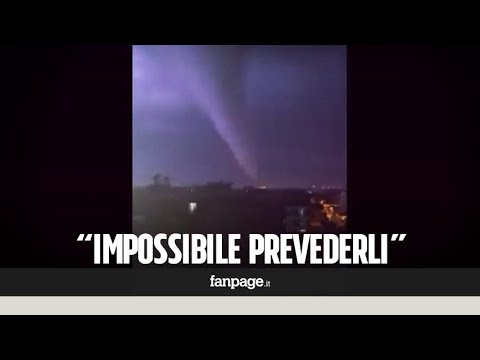"""Tromba d'aria a Caserta, il metereologo: """"Simile a un tornado, ecco perché è impossibile prevederli"""""""