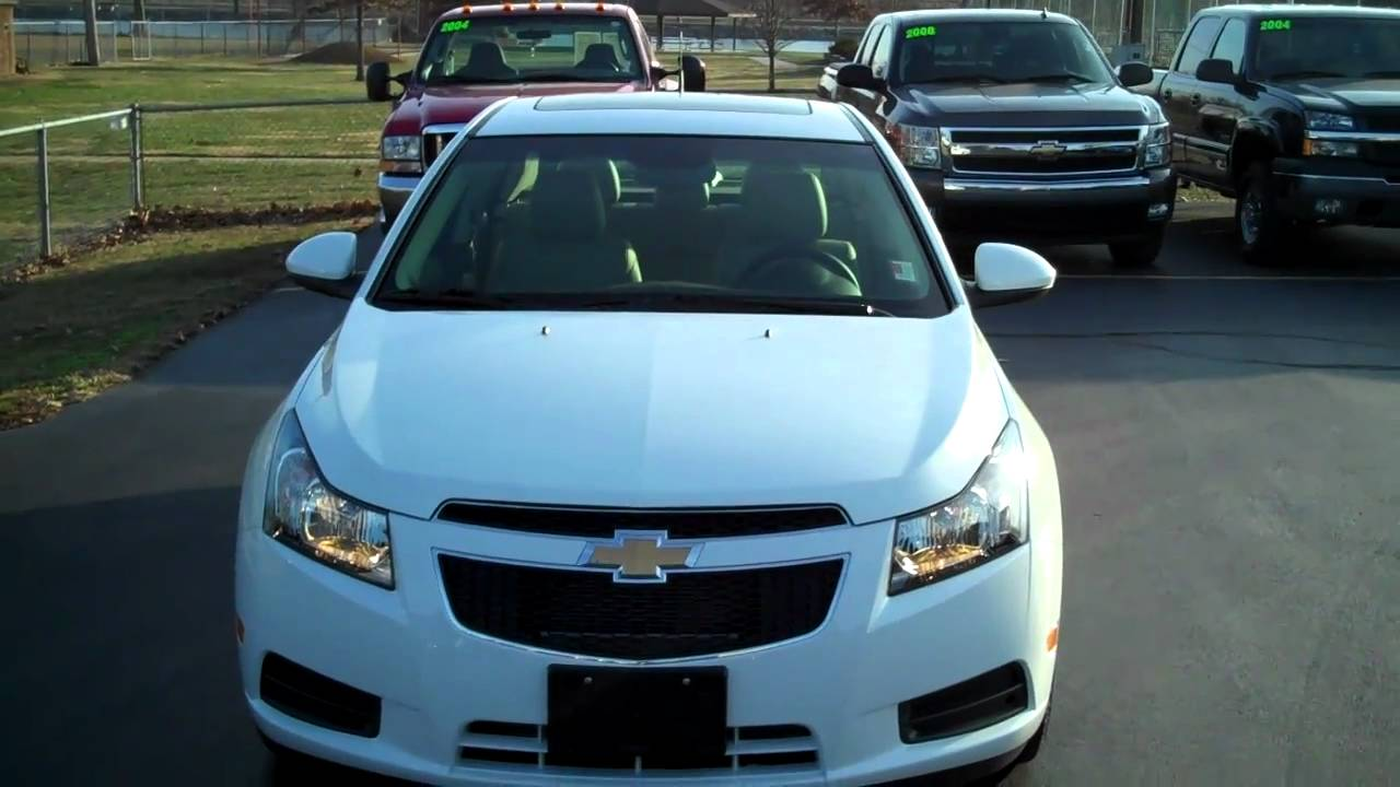 Cruze chevy cruze 2lt : 2011 Chevrolet Cruze 2LT - YouTube