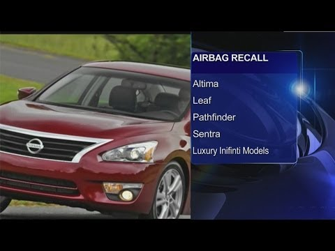 Nissan Recall: Airbags