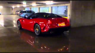 Ferrari 599 GTO Acceleration and SOUND!!!