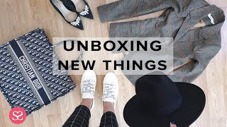 Unboxing a New Luxury Handbag & New Matching Clothes to Style it With | SHOPPING HAUL | AD