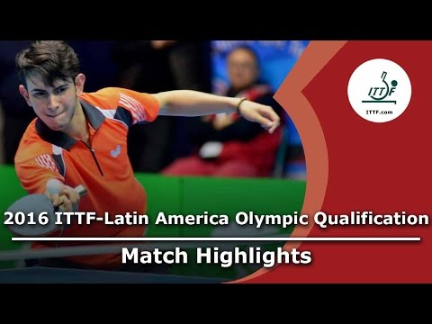 2016 Latin America Olympic Qualification Highlights: Juan Lamadrid vs Brian Afanador