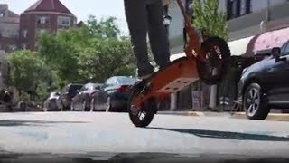 Super 1800 watt 48v Brushless Lithium Electric Scooter Assembly And Ride