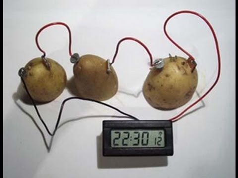 how to make a potato battery youtube