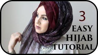 vuclip Everyday Simple Hijab♡Tutorial | Amina Chebbi
